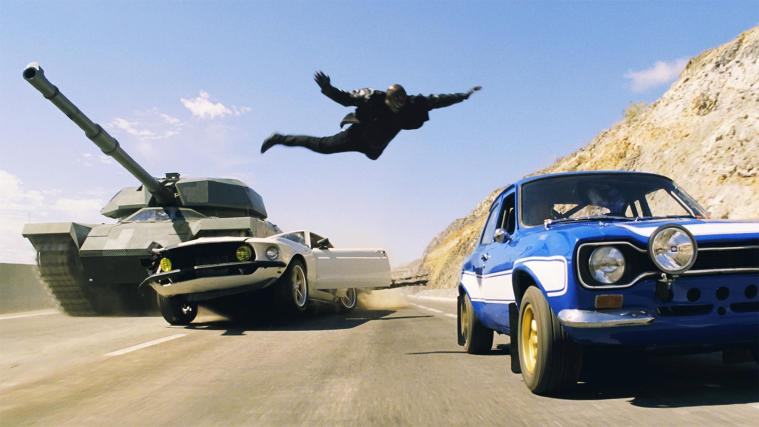 Fast 6 Tyrese Air