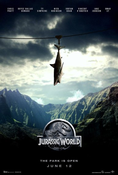Jurassic World Fan poster