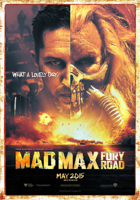 Mad Max Fan Poster