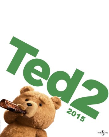 Ted 2 beer poster